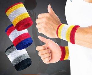 Sport Basket Sweatband Wristband poignet Protector Sport Tennis Courir Badminton Basketball Brace Band Sweat