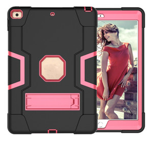 For Ipad pro 11 2018 Camera Protection Kickstand Functions Durable Shockproof Tablet Case Cover