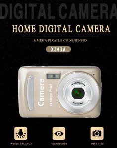 16MP 2.7 Polegadas TFT LCD Câmeras Digitais Gravador De Vídeo 1080 P HD Câmera 8X Zoom Digital DV Anti-shake