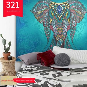 2020 Bohemian wind printing home tapestry wall Sitting carpet towel hanging wall decoration beach towel beach sitting blanket