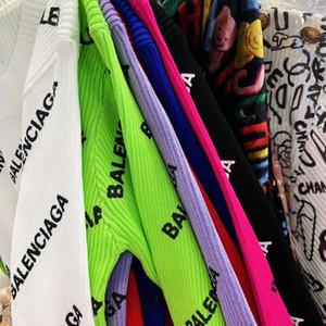 Streifen-T-Shirts stricken schwitzen femme Gitter Jumper Marke Sportswear femme Frauen neue neue Ankunfts-freies Verschiffen Hip-Hop-Stil ziehen