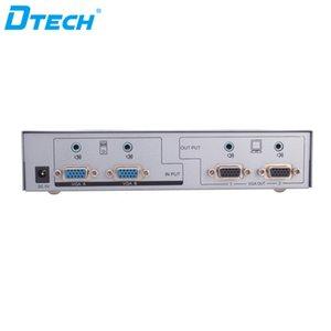 Spedizione gratuita Plug and play telecomando IR 1920 * 1440 350MHZ 2 Ingresso 2 Uscita interruttore matrice video HD VGA