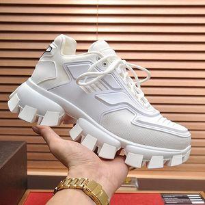 Prada Calzado de lujo Zapatos para hombre Herren Luxus Marken Schuhe Cloudbust Thunder Knit Sneakers Moda Classic Skateboarding Zapatos con cordones casuales