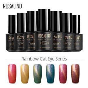 New Nagellack Nagellack Regenbogen-Katze-Augen-Kleber Kleber Phototherapie 15 Color Factory Großhandel Cat Eye Gel 7 ml