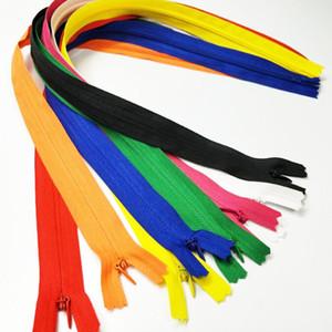 HL 50PCS 50CM Länge Bunte Nylon Unsichtbare Reißverschlüsse Close-End Garment Taschen Accessoires Sewing Notions A302