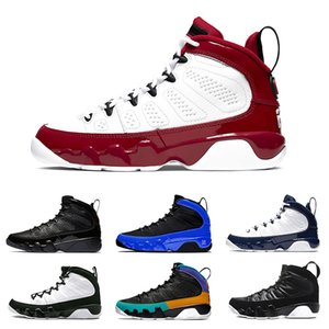 9 9s Gym Red Herren-Basketball-Schuhe Lakers Mop Melo OG Tour-Gelb PE Anthrazit Der Geist RELEASE-Sport-Trainer-Turnschuhe