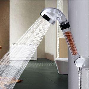 물 절약 필터의 공을 밀어주는 목욕 샤워 헤드 고압