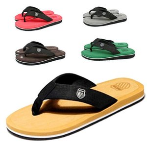 2020 New Style Summer Men's outdoor non-slip Flip Flops Sandals Beach Casual Flip-flops slipper Shoes Flats Size 40-45