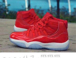 WMNS 11 Bred blanca de piel de serpiente marina naranja Trance 11s 2020 zapatos de baloncesto Bred transpirable Concord High A14 45 deportes de las zapatillas de deporte
