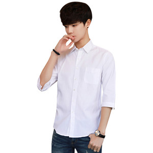 Pop2019 Seven Man Summer En Half Sleeve Easy 7 Partie Fivepence Korean Shirt Homme Modèle Tendance