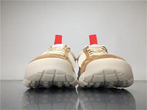 Tom Sachs HOT gros x Craft Mars 2.0 TS Cour conjointe limitée Sneaker la meilleure qualité Natural Sport Red Maple Chaussures de course authentique