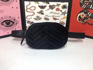 fannypack tasarımcı çantaları Kaliteli Kadife bel çanta çanta yüksek kaliteli yeni stil çanta kemer çanta Kadife Gucy cüzdanlar bumbag