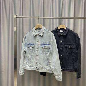 2Denim jacket men's Korean Trend spring and autumn new couple leisure spring handsome ins trend all-around jacket137
