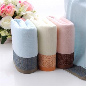 Cotton 2019 Handtuch wischt 34 * 75cm dicken weichen Großhandel Textilien 100g freies Verschiffen