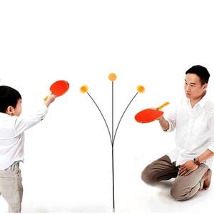 Tennis de Table formateur enfants élastique doux arbre auto-formation artefact unique Maison Intérieur raquette Jouets Expédition Rapide