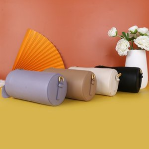 Borsa piccola in dimensioni 2020 nuovo sacchetto femminile primo strato di pelle importazioni di spagnolo rotonda tracolla regolabile borsa messenger ascella