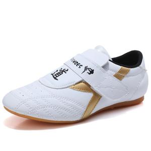 Taekwondo enfants chaussures enfant chaussures de lutte Désignée Karaté kickboxing femme adulte mâle tae femme Kwon sport slip sneakers
