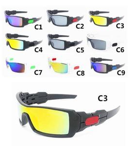 9 COLORES NUEVA LLEGADA PARA HOMBRES DE SOL HOMBRES DEPORTIVOS SUNGLASS DISEÑADOR Gafas de sol Gafas de sol