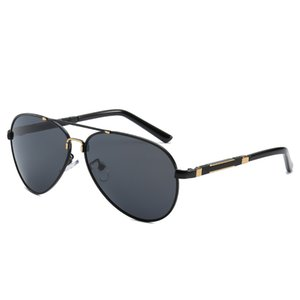 High-End High Marke Color Business Sonnenbrille Herrenkästen Polarisierte Sonnenbrille Mode Designer Retro Fahren Senden an qualit ebxtx