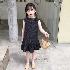 Mihkalev Cute Kids Dresses For Girl Pleated Princess Dresses 2020 Summer Children Evening Party Dress Baby Girls Dance Clothes