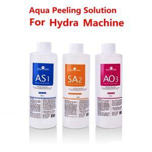 Aqua Peeling Solution 400ml Per Bottle Hydra Dermabrasion hydra facial serum Facial Cleansing Blackhead Export Liquid for normal skin