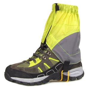 Alta qualidade 1 par sapatos ao ar livre caminhadas capa protetora caminhadas de esqui curta capa protetora de patinação à prova de água