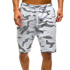 Mens New Fashion Camouflage Shorts Casual Male Hot Vente Shorts Longueur genou été Pantalons courts