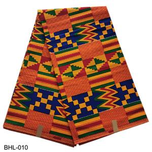 실제 아프리카 인쇄 왁스 패브릭 앙카라 왁스 직물 100 % 코튼 편안하고 의류 소재 BHL-010 좋은 품질