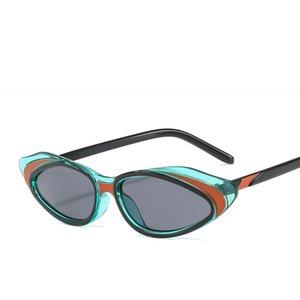 Kingseth 2019 magros Cateye Óculos Fashion For Women Mulher Vintage Sun Glasses Hot Chic Cat Eye Eyewear
