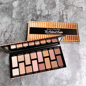 HOT Born this way eye shadow palette the natural nude Luminous 16 colors eye shadow Shimmer Matte eye shadow palette