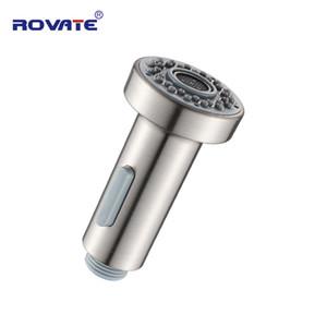 ROVATE Mutfak Bataryası Nozülleri spraye Fırçalı ABS Plastik Çekme İşlemleri Su Mutfak Musluk Aksesuarları Musluklar Outlet Head 2 Türlü