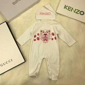 2pcs stellte Baby gir Spielanzug Tiger druckte neugeborene Overallkleinkinder Overall- / Spielanzugkind-Markenkleidung ein Freies Verschiffen