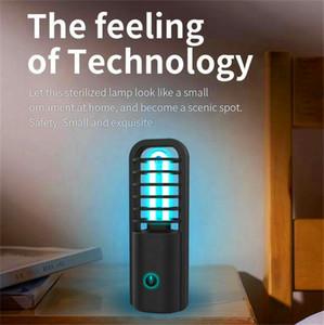 UVC usine de gros 2020 place vente chaude mini stérilisation lampe UV stérilisant USB rechargeable Désinfectant air lumière uv lampe germicide