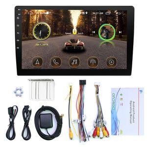 Android için 10.1 İnç HD Araba MP5 Çalar GPS Navigasyon Mp3 Radyo AIO Makinası