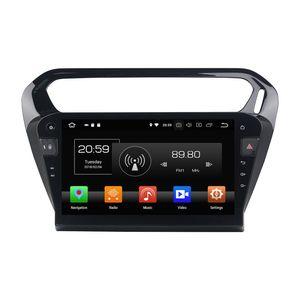 "4 GB + 32 GB Octa Núcleo 1 din 10.1 ""Android 8.0 Rádio Do Carro DVD Navegação GPS Player para Peugeot 301 / Citroen Elysee 2013 2014 2015 2016"