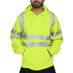 Strange Hoodies 운동복 Mens Road Work 풀오버 탑 의류 긴 소매 후드 티셔츠 탑 사이즈 M-3XL