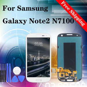 Super originale per Samsung Galaxy Note 2 Schermo LCD II N7100 di alta qualità Crystal Clear Protector