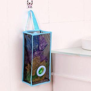 Высокое качество складной дышащая сетка висит кухня мешки для мусора сумка для хранения сортировки перчатки носки организаторы