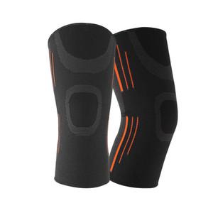 Hommes Femmes Courir Joint Pain élastique formation Respirant genouillères sport Squats manches Compression de remise en forme de soutien aux victimes