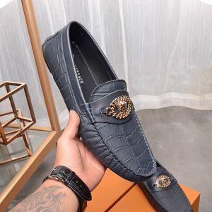 primavera moda in pelle autunno nuovo scarpe casual da uomo di fagioli riva causale della moda