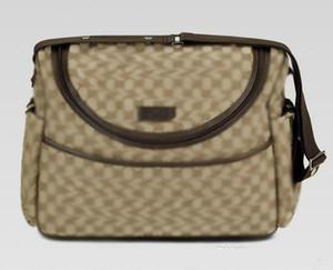 Heißen Verkauf-nagelneue Frauen Segeltuchhobo-Baby-Windel-Beutel-Entwerfer-Schultertasche Braun Schwarz, Rosa, Weiß Baby-Windel-Beutel-Mama-Mutter-Handtaschen