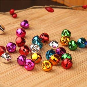 Noel Süslemeleri DIY El Sanatları Aksesuarları Süsleme 10-30mm Renk Çapraz Çan Dekorasyon Oyuncak Pet