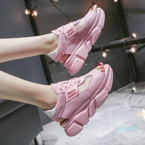 Luxury Shoes Women Designers Breathable Platform Sandals 2020 Summer Woman Sneakers Sweet Girls Comfort Flat Sandalias Mujer ct1