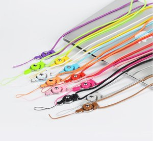Detachable Cell Phone Strap Neck Lanyard Braided Neck Nylon Hang Rope for Mobile Phone Badge Camera Mp3 USB ID Cards dhl