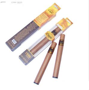 Heiße Einweg-Zigarre 1800 Puffs Elektronische Zigarette E-Zigarren No.1 E Cig Dampf Leistungsstarke Zigaretten besser als Shisha E hookah Wegwerf