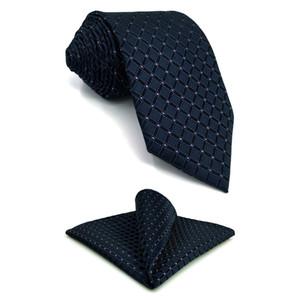 F22 Военно-Морской Флот шашки мужчины галстук набор бизнес жених XL галстуки для мужчин классический карманный квадрат