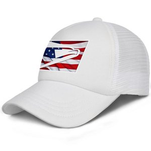 United States Postal Service USPS 3D effect flag logo Big Boy Baseball Cap Adjustable Teen Trucker meshHat Golf Vintage Custom Classic
