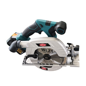 1200W Cordless brushless chainsaw electric circular saw Woodworking handheld for home work Cutting machine lithium battery circular saw