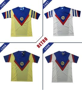 1987 1988 CLUB AMERICA RETRO SOCCER JERSEYS 87 88 MEXICO LEAGUE Vintage JERSEY FOOTBALL SHIRTS