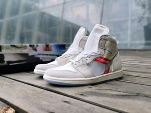 (com caixa) sapato de elemento 87 branco 1 calçados de basquete de homens Mid o cirurgião de sapato P.J.Tucker elemento 87 x 1 treinador de Designer Mens 555088-087